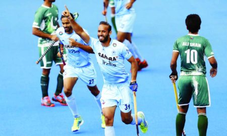India, Win, Pakistan, FIH Hockey World League
