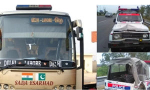 Accident, Sada E Sarhad Bus, Passengers, Safe, Punjab