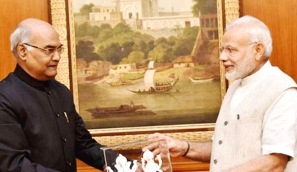BJP, Announces, Ram Nath Kovind, Presidential Candidate, NDA, Amit Shah