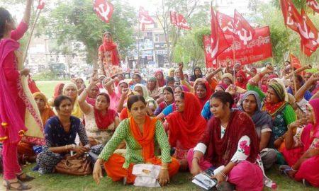 Workers, Protest, State Govt, Raised, Strike, Haryana