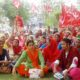 Workers, Protest, State Govt, Raised, Strike, Haryana