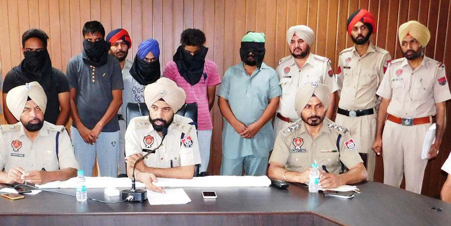 Accused, Arrest, Drugs, Police, Punjab