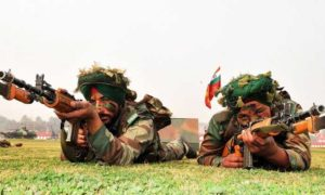 Encounter, Pakistani Army, Indian Army, Panic, Firing