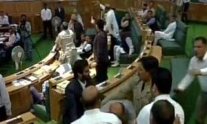 Ruckus, GST, Jammu And Kashmir, Assembly, Beating