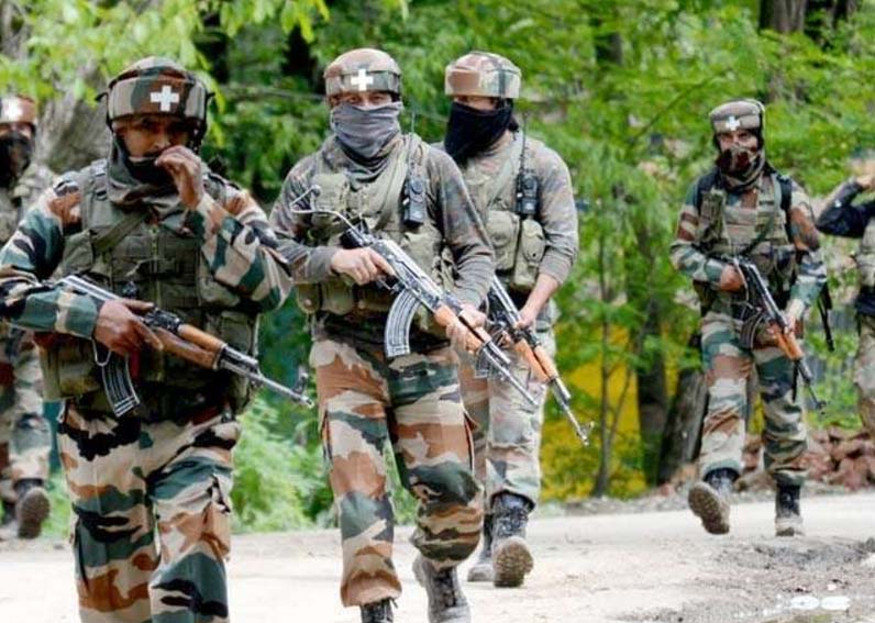 Encounter Pulwama, Panic, Indian Army, Firing, Kashmir