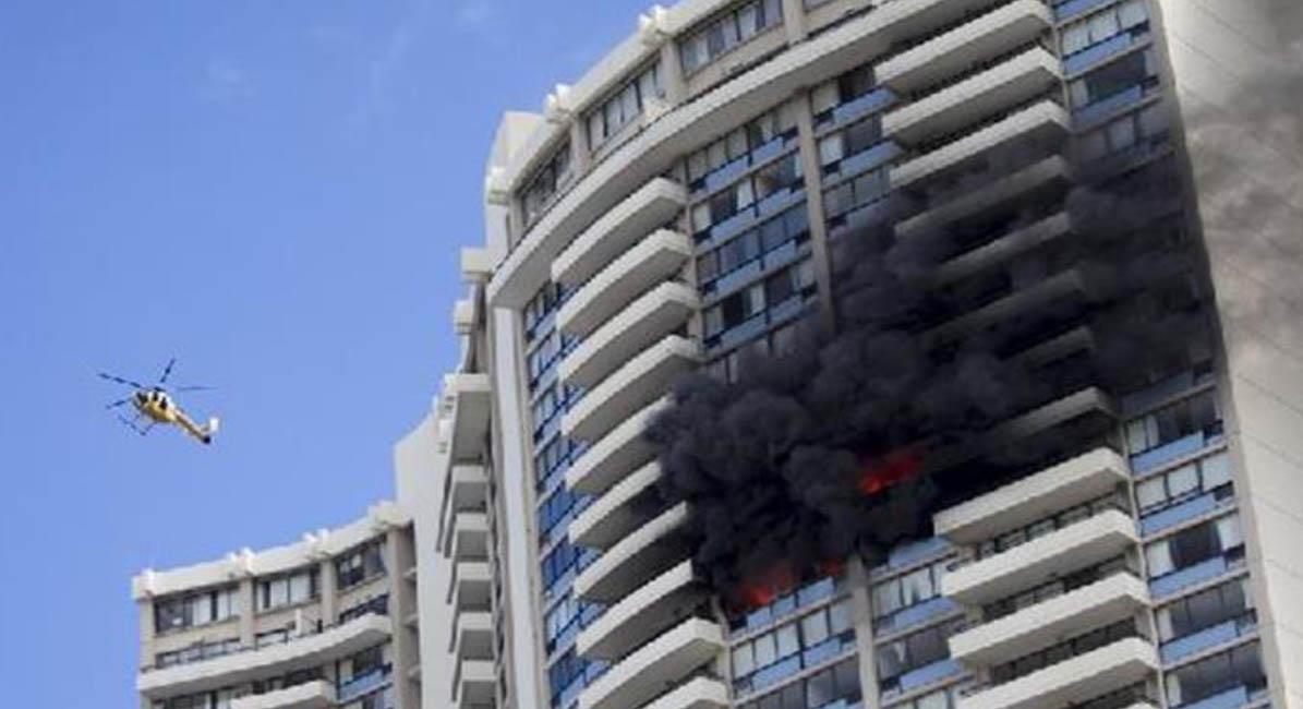 Death, Fire, Building, Honolulu, Fire Brigade