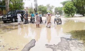 Pits, Main Roads, Accident, Officer, Punjab