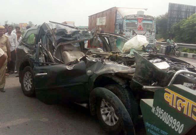 HighSpeed, Road Accident, Injured, Hospital, Police, Rajasthan