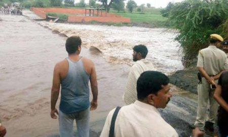 SDM, Missing, River Drift, Water, Heavy Rain, Rajasthan