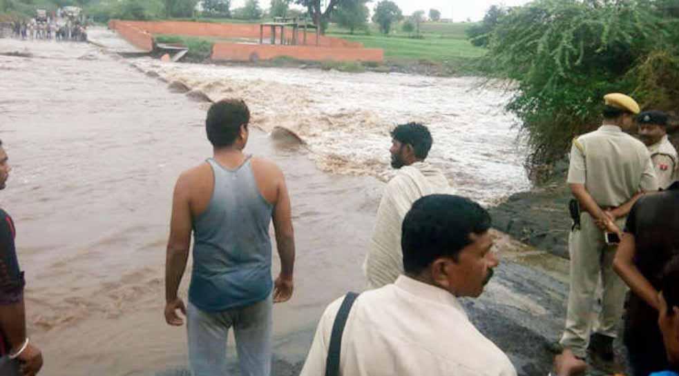 SDM, Missing, River Drift, Water, Heavy Rain, Rajasthan