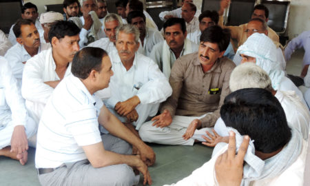 Farmer, Suicide, Debt, Govt Hospital, Strike, Raised, Haryana
