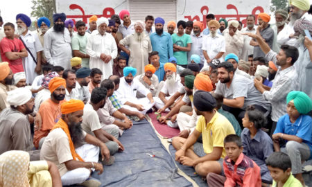 Wine Shop, Lock, Panchayat, Raised, Villagers, Strike, Punjab