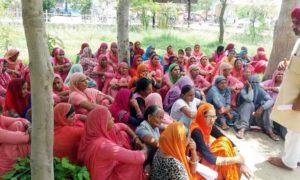 Worker, Protest, Demand, Deputy Commissioner, Raised, Strike, Haryana