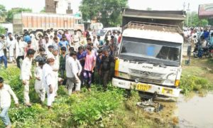 Accident, Bike Riders, Death, Truck, Haryana