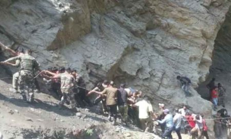Death, Bus, Pilgrims, Ditch, Injured, Rescue Operation