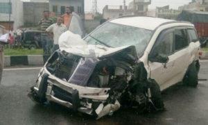 Death, High Speed, Car, Accident, Punjab
