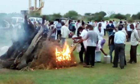 Funeral, Gangster Anandpal, Strict Security, Government, Rajasthan
