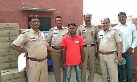 Smuggler, Arrested, Illegal Alcohol, Police, Rajasthan