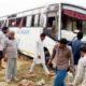 Death, Uncontrolled, Bus, Collision, Divider, Injured, Haryana