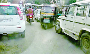 Jam, Arbitrary, Private Bus, Drivers, Complain, Punjab, Haryana
