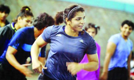Sakshi Malik, Competing, World Championship, Wrestler