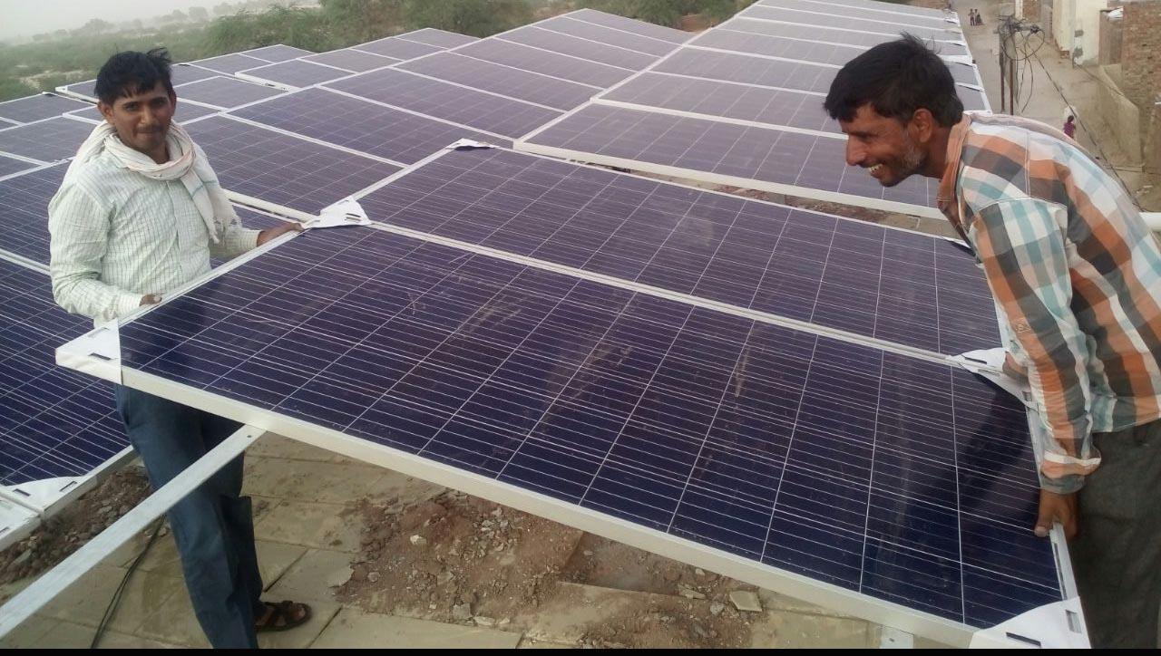 Solar Power Plant, Consumer, Unit, Energy Production, Rajasthan