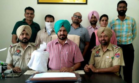 Heroin, Police, Recovered, Smuggling, Punjab