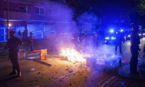 Injured, Fire, Police, Clash, Protesters, G20