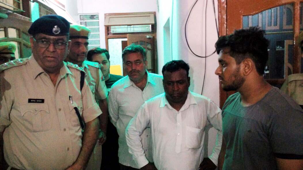 Loot, Cash, Mortgage, Accused, Police, Rajasthan