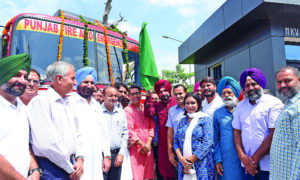Navjot Singh Sidhu, Green Signal, Fire Brigade, Punjab
