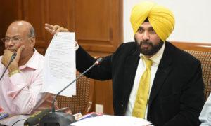 Navjot Singh Sidhu, Officers, Suspended, Tax, Punjab