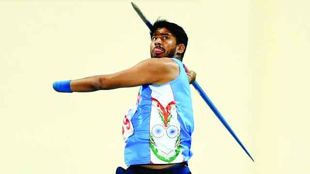 India, Para Athlete, Sundar Singh Gurjar, Won, Gold, London
