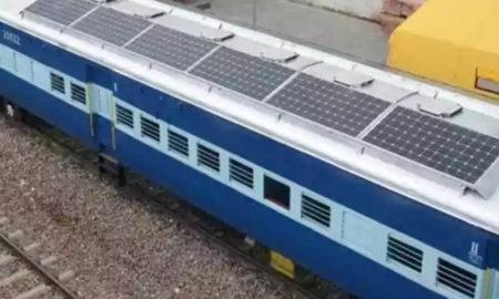 Solar Panels, Train, Decrease, Fuel Costs, Electricity, Battery