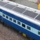 Solar Panels, Train, Decrease, Fuel Costs, Electricity, Battery