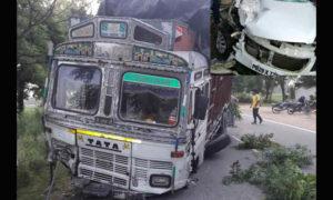 Death, Truck, Car, Collision, Accident, Punjab