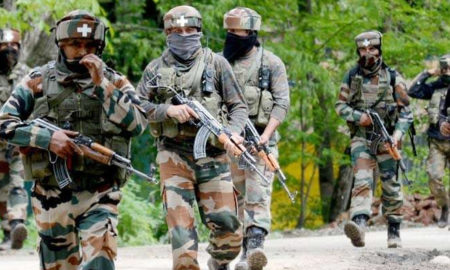 Militant, Heap, Hizbul Mujahideen, Indian Army, Security Forces, India
