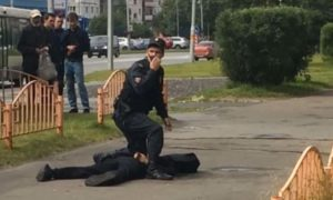 Terrorist, Attack, Russia, Knife, Injured
