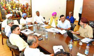 Preparation, Dealing, Ground Water Problem, Punjab, Captain Amarinder Singh