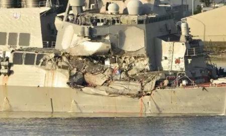 US, Navy Vessel, Crash, Commander Dismissed