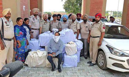 Intoxicant Drug, Arrested, Police, Punjab