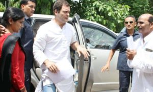 Rahul Gandhi, Officers, NHAI, Lucknow, Farmers, Compensation