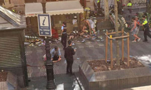 Second Attack, Spain, Van, Died, Injured, Panic, Police