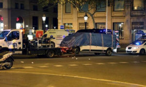 Dangerous, Terrorism, Spanish, Capital, Van, Died