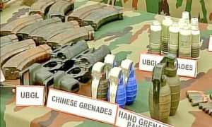 Terrorism, Killed, Kashmir, Encounter, Weapons, Army