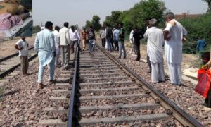 Death, Crossing Line, Train, Police, Rajasthan