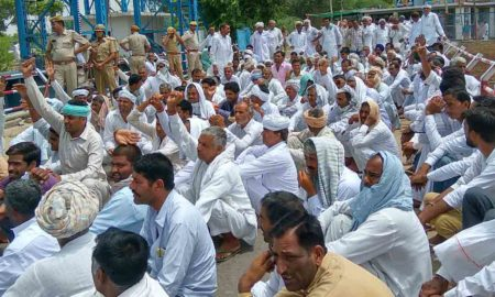 Protest, Jam, Farmers, Police, Water, Rajasthan