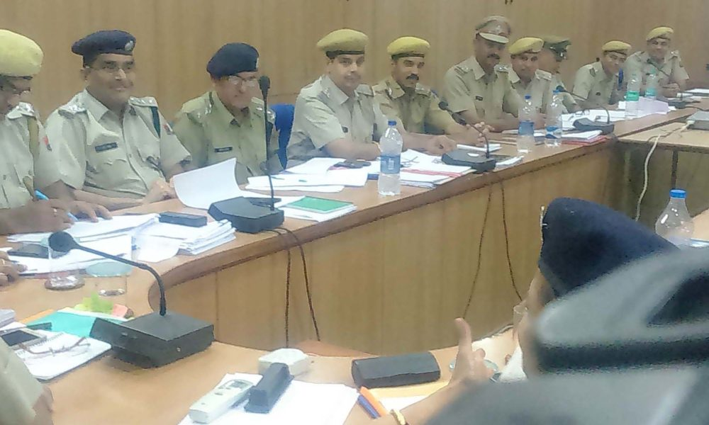 SP, Crime, Meeting, Police Officer, Rajasthan