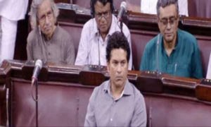 Sachin Tendulkar, Rajya Sabha, Proceedings, Social Media