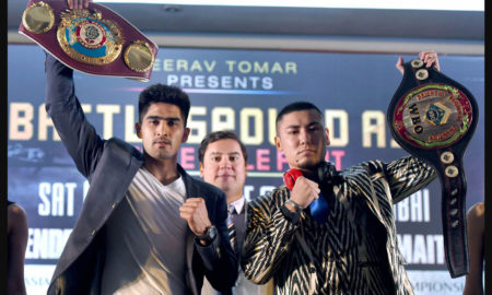 Vijender Singh, Fight, Chinese Boxers, India, Champion