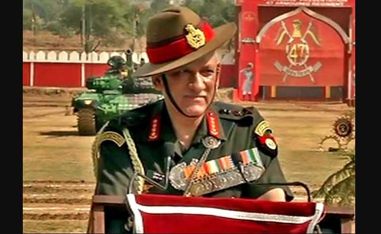 Army Chief, Bipin Rawat, Indian Army,Kashmir